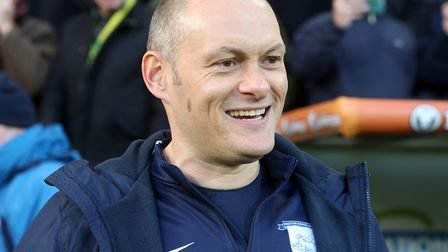 Preston North End Manager Alex Neil before the Sky Bet Championship match at Carrow Road, Norwich. P