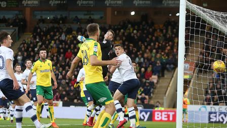 Preston keeper Chris Maxwell was left grasping at thin air as James Maddison curled in a brilliant f