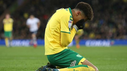 The pinkun.com Norwich City podcast discusses among other things, Josh Murphy - pictured here reacti