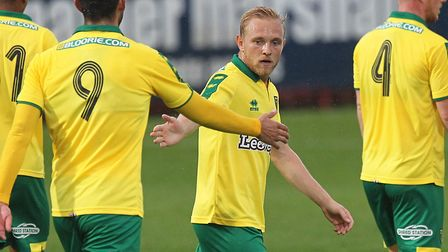 Alex Pritchard made his Norwich City comeback against Preston North End at Carrow Road - and now pla