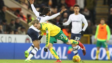 James Maddison is lighting up some of the gloom around Norwich City. Picture: Paul Chesterton/Focus