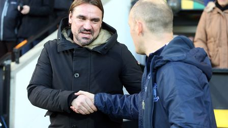Norwich City's past met the present at Carrow Road on Saturday when head coach Daniel Farke came up