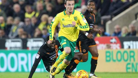 James Maddison has grabbed his chance this season in the absence of Alex Pritchard. Picture: Paul Ch