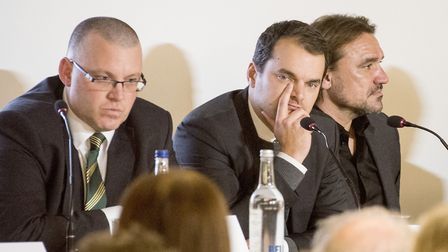 Sporting director Stuart Webber sampled his first Norwich City annual general meeting on Wednesday n