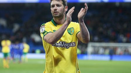 Wes Hoolahan, applauding the Canaries' traveling fans, was among those far from happy with Norwich C