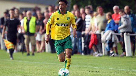 Jamal Lewis is ready to fight for a place in Norwich City's first team. Picture: Paul Chesterton/Foc
