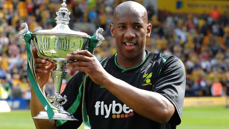 Dion Dublin won the player of the season award at City during the 2007/8 campaign. Picture: Archant