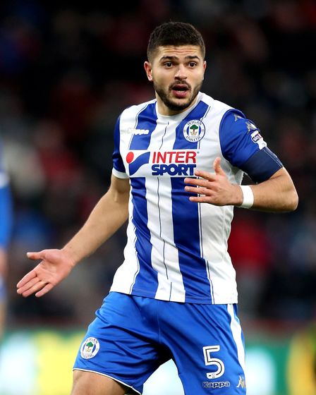 Wigan Athletic's Sam Morsy. Picture: PA