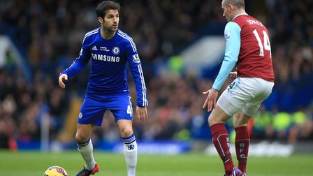 Chelsea's Cesc Fabregas - can thread a football through the eye of a needle. Picture: PA