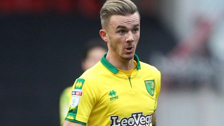 James Maddison on the ball for the Canaries at Ashton Gate on Saturday. Picture: Paul Chesterton/Foc