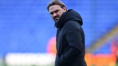 Daniel Farke says he put too much pressure on his players before the Brentford defeat. Picture: Paul