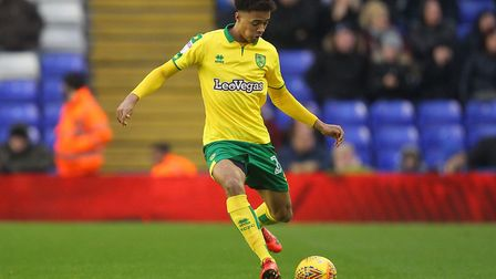 Jamal Lewis's return to fitness has come at a good time for Norwich City. Picture: Paul Chesterton/F