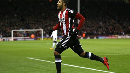 Leon Clarke has been bang in form for Sheffield United this season. Picture: PA