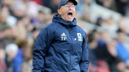 Middlesbrough manager Tony Pulis. Picture: PA