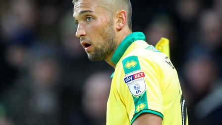 Moritz Leitner impressed as a second half substitute for Norwich City against Middlesbrough. Picture