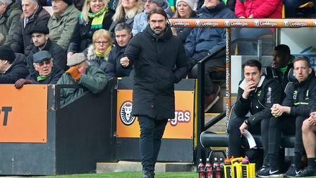 Daniel Farke could yet engineer a push for a play-off place. Picture: Paul Chesterton/Focus Images