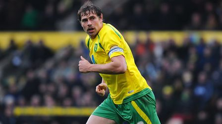 Grant Holt in action against Ipswich Town in 2010. Picture: Archant