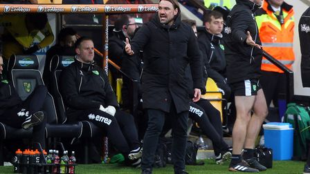 City head coach Daniel Farke has plenty to ponder from now until the end of the season. Picture: Pau