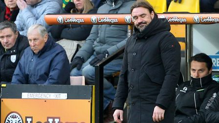 It was a frustrating day for Norwich City head coach Daniel Farke against Bolton at the weekend. Pic