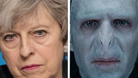 Theresa May, Lord Voldemort