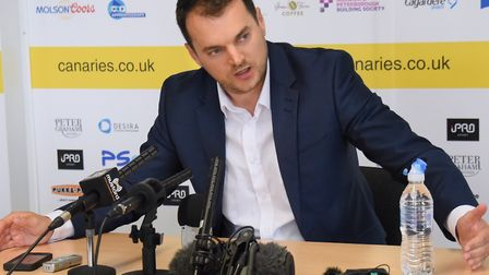 Stuart Webber had a bold vision in mind for Norwich City Picture: Denise Bradley