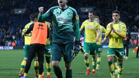 Tim Krul has enjoyed helping Norwich into a lofty Championship position Picture: Paul Chesterton/Foc
