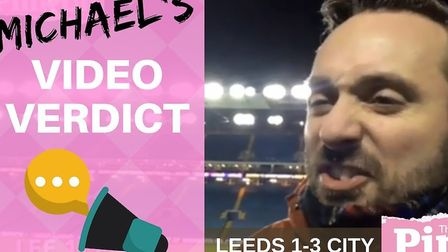 Norwich City correspondent Michael Bailey delivers his verdict from pitchside at Elland Road, follow