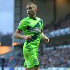 Moritz Leitner of Norwich during the Sky Bet Championship match at Ewood Park, BlackburnPicture by P
