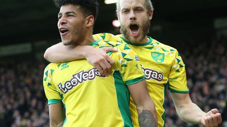 Onel Hernandez and Teemu Pukki were on the mark in Norwich City's 2-2 Championship draw against Shef