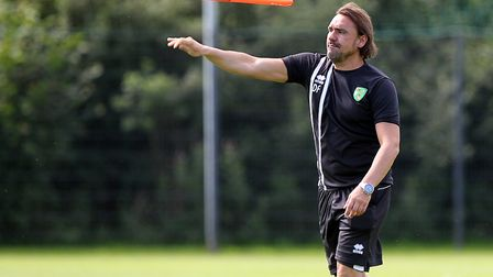 Daniel Farke has guided Norwich City to an improbable tilt at Premier League promotion ahead of this