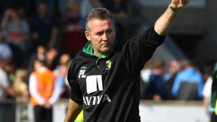 Paul Lambert had a strong bond with the Norwich City supporters in his time at Carrow Road Picture: