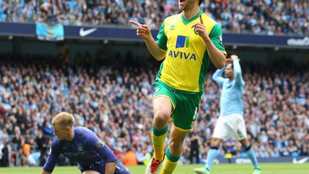 It's moments like this that make it worth it - Jonny Howson celebrates after scoring the winner at M