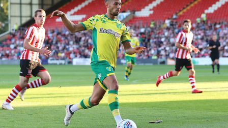 Moritz Leitner is pencilled in for a return soon - possibly as soon as at Bolton on Saturday. Pictur