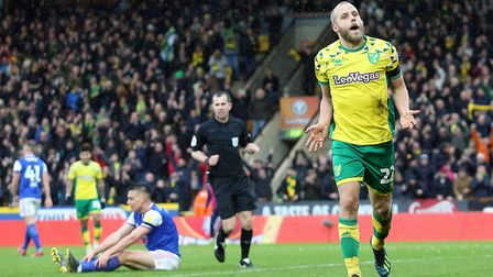 The sight of Teemu Pukki peeling away to celebrate has been a regular feature of Norwich City's 2018