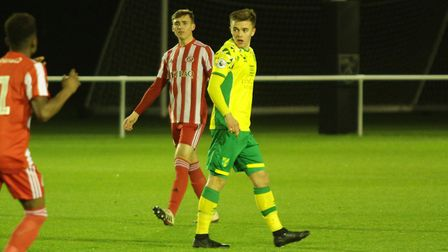 Alfie Payne has been a regular for Norwich City U23s this season Picture: Norwich City
