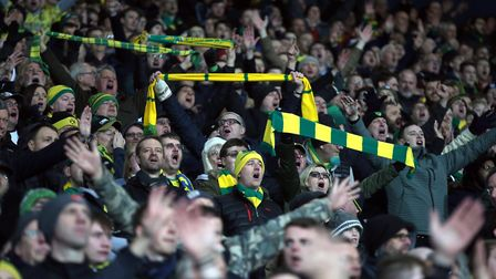 Over 2,700 Norwich City supporters made the trip to West Brom in January Picture: Paul Chesterton/Fo