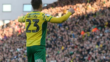 Kenny McLean takes the adulation after firing a wonderful strike home to earn Norwich City victory o