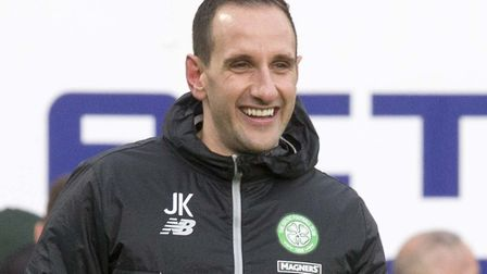 John Kennedy steps up from first-team coach to assistant manager at Celtic Picture: Jeff Holmes/PA