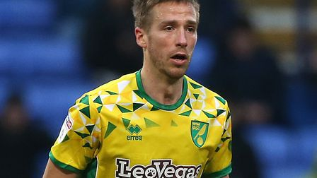 Marco Stiepermann indulged in some unusual preparation for Norwich City's trip to Millwall Picture: