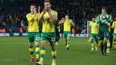 Jordan Rhodes and Kenny McLean, left - vital strength in depth for Norwich City Picture: Paul Cheste