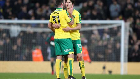 Grant Hanley and Timm Klose - how's that for back-up? Picture: Paul Chesterton/Focus Images Ltd