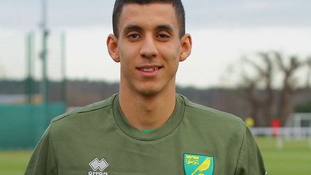 Gassan Ahadme joined Norwich City during the January transfer window Picture: Norwich City FC