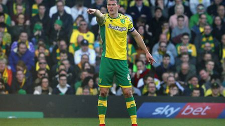 Christoph Zimmermann has been one of the mainstays of Norwich City's promotion assault. Picture: Pau