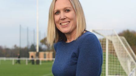 Zoe Ward, business and project director of Norwich City Picture: DENISE BRADLEY