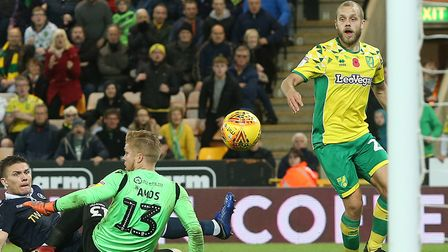 Teemu Pukki sparked wild celebrations at Carrow Road in November when his injury-time winner salvage