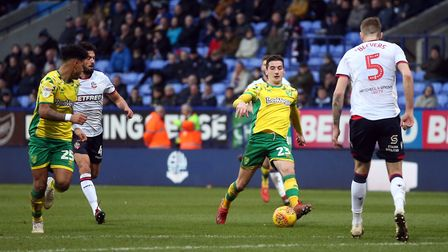 Kenny McLean - another player who has stepped seamlessly into the Norwich City side Picture: Paul Ch