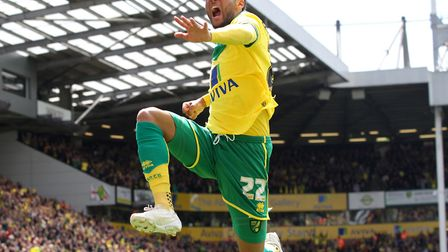 Nathan Redmond was an integral part of the Norwich City team which won play-off promotion in 2015, p