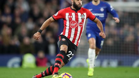 Nathan Redmond has rediscovered his form under Ralph Hassenhuttl at Southampton Picture: Adam Davy/P