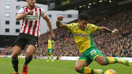 Onel Hernandez had a telling impact when he came on at Ashton Gate in the Canaries' 2-2 draw Picture