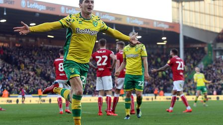 Kenny McLean had a brace of goals to enjoy at Carrow Road - including Norwich City's winner as the C